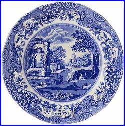 Spode Blue Italian 12 Piece Set 4-piece 10.5 inch Dinner Plate