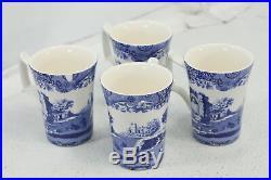 Spode Blue Italian 12 Piece Set Blue Unisex 1646858 Earthenware White Dinner