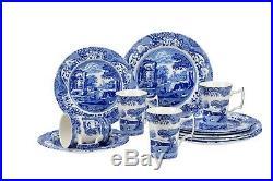 Spode Blue Italian 12 piece Dinnerware Set Service for 4 N EW FREE SHIP