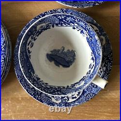 Spode Blue Italian 15 piece Tea Set