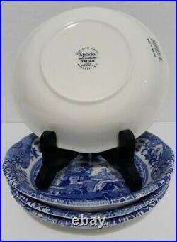 Spode Blue Italian 16 Piece Earthenware Mfsrp $499.99 Brand New Service For 4