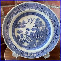 Spode Blue Italian 27cm plate 2 pieces set