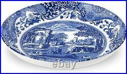 Spode Blue Italian 5 PIECE SET! 4 Soup / Pasta / Salad 9 Bowls & 1 LARGE 12