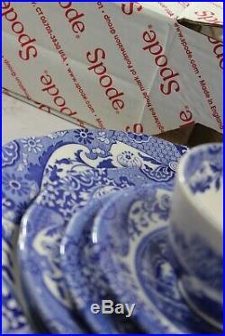 Spode Blue Italian 5-Piece Place Setting