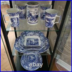Spode Blue Italian Classic Earthenware Dinnerware 12-piece Set Service for 4 NEW