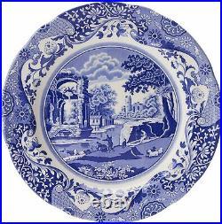 Spode Blue Italian Classic Earthenware Dinnerware 12-piece Set Service for4 NEW