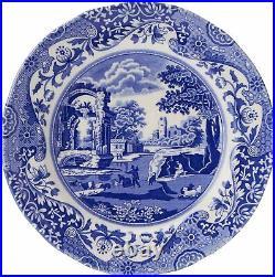 Spode Blue Italian Collection 12 Piece Dinnerware Set, Fine Earthenware