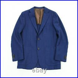 Suitsupply Havana Reda Natural Stretch Wool Patch Pocket Unstructured Blazer 36R