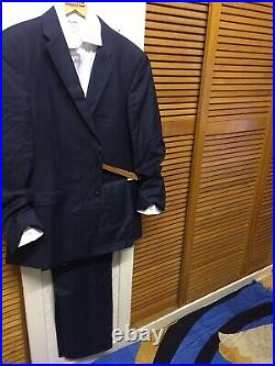 Tommy Hilfiger Mens Single Breasted Two Pieces Regular Fit Suit Size 44 Eur 54