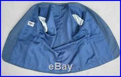 VINTAGE 1980s 41S Bijan Beverly Hills 2-Piece Suit Men 41 Blue Italian Bespoke