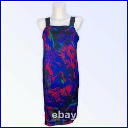 VTG 2 Piece Ken Scott Italian Made Silk Dress Set