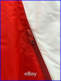 Vtg 80s 90s Colmar Sportswear Italian Ski Snow Suit Vest 1-Piece Red White Blue