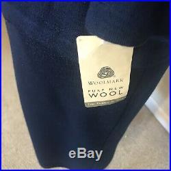 Wool 3 Piece Ladies Suit Navy S NWT Italian Fitted Luisa Fragnoli Gone Merino