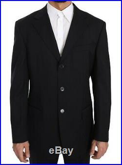 Z ZEGNA Suit Two Piece 3 Button Wool Dark Blue Solid s. EU50/US40/L RRP $1700